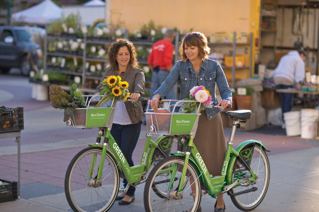 Greenbikes Salt Lake bikeshare