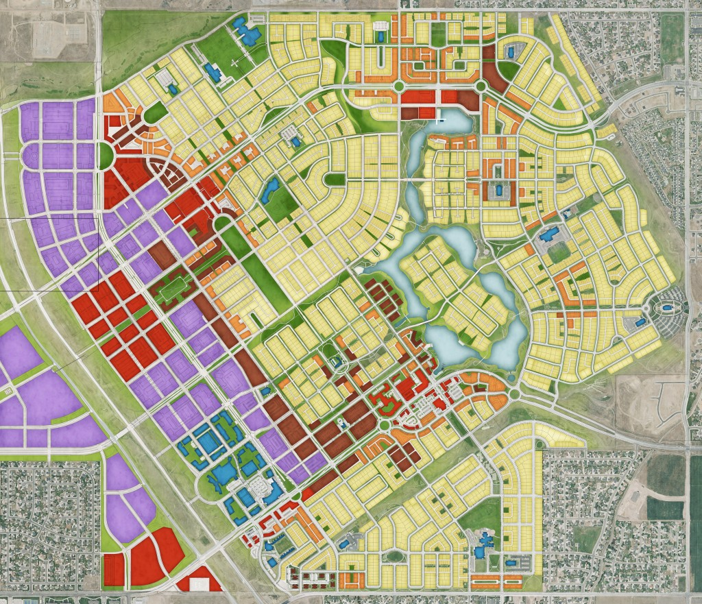 Salt Lake CIty Daybreak master plan